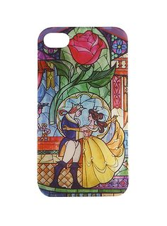 Disney Beauty And The Beast Stained Glass iPhone 5/5S Case | Hot Topic