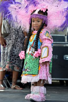 Red Hawk Mardi Gras Indians at New Orleans Jazz & Heritage Festival, Friday, May 4, 2012 | Flickr - Photo Sharing!