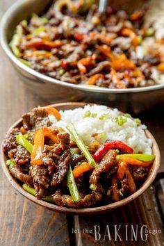 Easy Mongolian Beef, Mongolian Beef Recipes, Asian Recipes, Healthy Recipes, Ethnic Recipes, Chinese Recipes, Healthy Nutrition, Drink Recipes, Healthy Eating