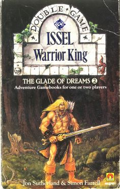 The Glade of Dreams two-player gamebook. John Blanche cover art