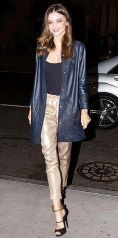 Look of the Day - November 21, 2014 - Miranda Kerr in Escada from #InStyle