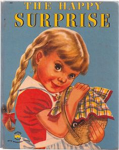 'The Happy Surprise', illustrated by Ruth Wood. Wonder Books 1952