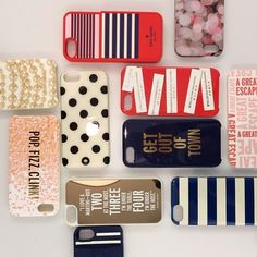 Shop:: Kate Spade phone cases are such a fun addition to any fashionistas look.