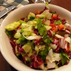 I've become a fan of chopped salad and thought I'd share this one that I made a few weeks ago.  Light and tasty!