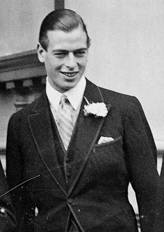 HRH Prince George, Duke of Kent, son of King George V and Queen Mary.
