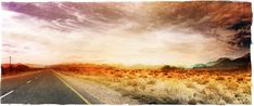 Available to buy online, VLAKTES by Janet Botes, photomontage on paper size 120 x 60 cm unframed. Artwork signed and numbered by the artist. Photomontage, Digital Collage, Online Art Gallery, Order Prints, Country Roads, African, Fine Art, Landscape, Artist
