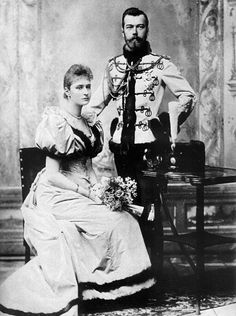 Wedding of Tsar Nicholas II, and Alexandra Feodorovna