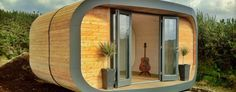 garden pod living spaces from the Eco Hubb project