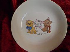 assiette enfant trois chatons : Cuisine et service de table par zigouigoui-nancy