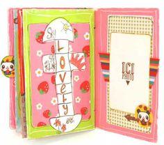 birthday scrapbook  for neice