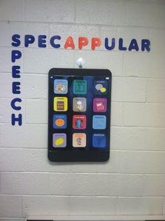 SpecAPPular Speech--Speech Therapy iPad/iPod bulletin board