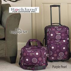 2-Pc. Expandable Luggage Set
