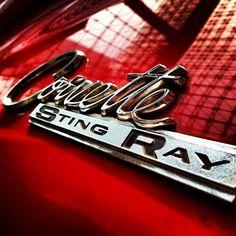 1963 Corvette Sting Ray emblem