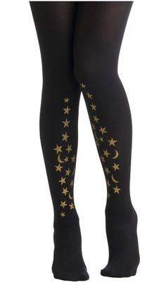 Celestial Tights, $37.99   39 Pairs Of Statement Tights Just In Time For Fall
