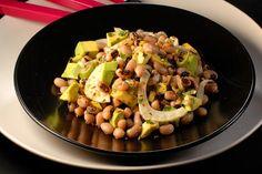 Black eye peas and avocado salad @ gastronomos. Legumes Recipe, Avocado Salad, Black Eyed Peas, Summer Recipes, Vegan Vegetarian, Potato Salad, Main Dishes, Salads, Appetizers