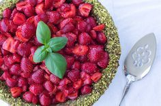 Strawberry Pistachio Pie