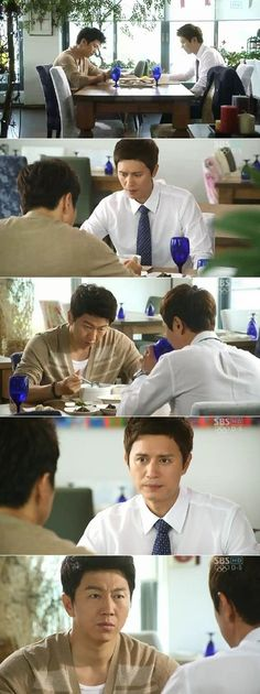 """Scenes from the latest episode of """"A Gentleman's Dignity"""" The drama heats up between friends."""