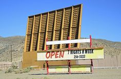 Skyline Drive-In, 31175 Old Hwy 58, Barstow, CA. Drive-In theater, Barstow, California