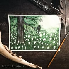Illusion Art, Art Crafts, Watercolor Art, Illusions, Promotion, Doodles, My Arts, Photo And Video, Painting