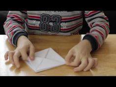Jak zrobic statek z papieru? How to make a paper ship? - YouTube