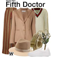 Inspired by Peter Davison as the Fifth Doctor on Doctor Who