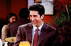 45 Surprising Facts About Friends That Most Fans Don't Know. Friends Gif, Friends Moments, Gif Library, Jane Lynch, Kathy Griffin, David Schwimmer, Matthew Perry, People, Concerts