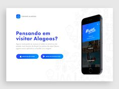 Turismo Alagoas | App download page by Arthur de Almeida