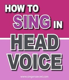 How to sing in head voice without straining your throat. #singingtips #howtosing #singing #singinglessons