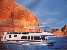 Houseboating on Lake Powell, went a few times with friends, their families...want to go again and take our girls.