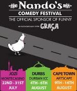 Nandos Comedy Festival! I have to show this to my husband! LOL