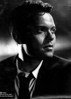 Orson Welles photographed by Ned Scott for The Lady from Shanghai Classic Film Noir, Classic Movie Stars, Classic Films, Old Hollywood Movies, Old Hollywood Stars, Classic Hollywood, Hollywood Icons, Cinema, Turner Classic Movies