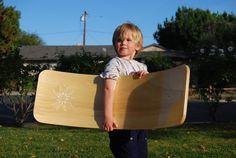 Curvy Board/ Waldorf Rocker Board Golden Oak by openendedcreations, $120.00