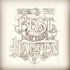 Friends of Type Wednesday sketch.    By Matthew Tapia  #lettering #friendsoftype #sketch #type #typography