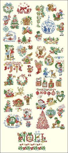 1689 besten Sticken Weihnachten Bilder auf Pinterest in 2018 ...