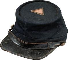 131282d8 Very Fine Untouched Condition Civil War Union Officer's Kepi | Lot #47603 |  Heritage Auctions
