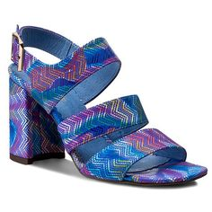 Sandály ROBERTO - 500 Haber Zygzazk Heeled Mules, Heels, Fashion, Heel, Moda, Fashion Styles, High Heel, Fashion Illustrations, Stiletto Heels