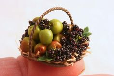 An English Autumn fruit basket