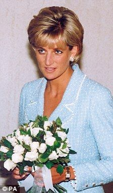 April 21, 1997: Diana, Princess of Wales at the British Lung Foundation at Hatton Garden, London. Photo by Dave Chancellor/alpha/Globe Photos,inc.