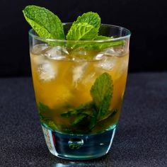 Sit back and enjoy the Kentucky Derby (whether you're watching for the race, the hats, or both) with a refreshing mint julep.