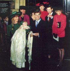 Princess Beatrice of York's christening