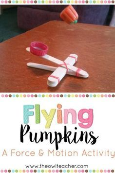 Updated! Check out this fun force and motion activity with a freebie for Halloween, where students learn the relationship between force, speed, and distance!
