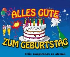 Birthday Greetings In German
