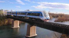 Tren Neuquén-Cipoletti - Industria Argentina, cochemotor Materfer (Córdoba)