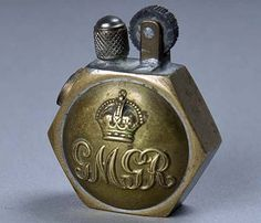 From the once-ubiquitous trench art of cigarette lighters