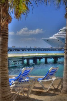 Parked in Cozumel by m_powers, via Flickr
