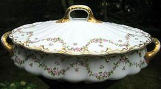 Antique Haviland Limoges Covered Tureen by 4HollyLaneAntiques, $160.00