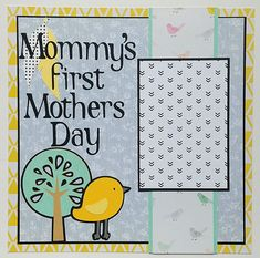 The first Mothers Day is always special. This is a great premade scrapbook page which would be perfect for a photo of the new mommy and her baby. This would be a wonderful addition to Babys first year scrapbook. This is a 12x12, one page premade scrapbook layout page. There is one photo mat which will hold a 4x6 photo. Thanks for looking! More holiday layouts, as well as more babys first scrapbook pages, can be found here http://etsy.me/1QJ3JcE  Please take a few minutes to bro...