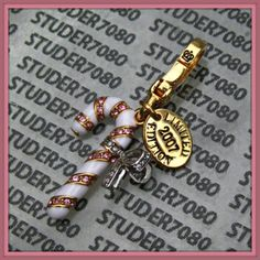 Candy cane charm | An Addiction to Juicy Couture Charms