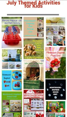 July Themed Activities for Kids #SuliaMoms #SuliaChat