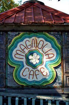 Magnolia Cafe' in St. Francisville, LA